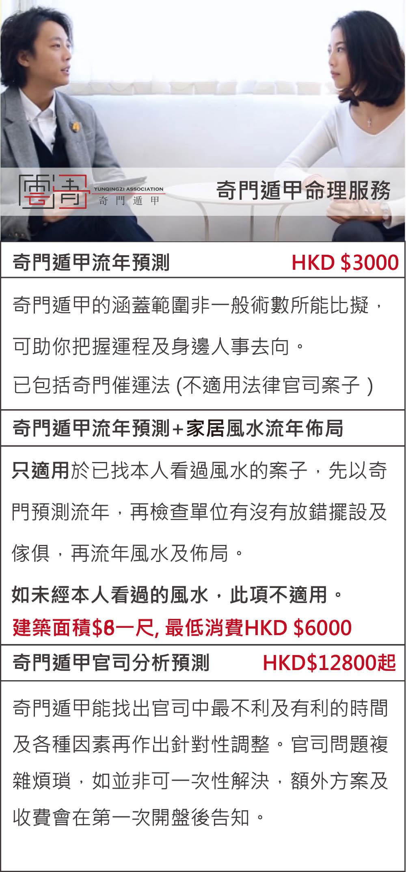 price list 1 qimen
